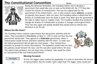 Constitution Day Lesson Plan